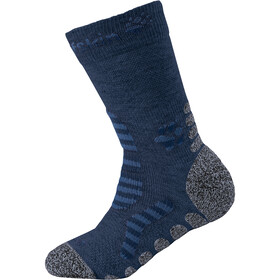 Jack Wolfskin Hiking Stripe Classic Cut Socks Kids dark indigo